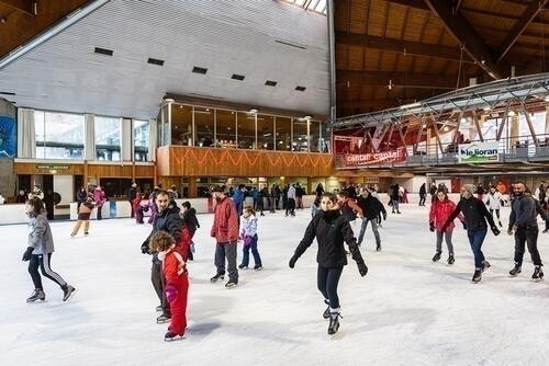 Ice rink of Le Lioran